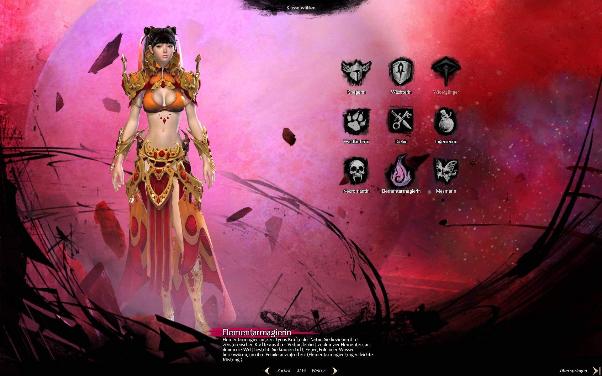 Guild Wars 2 Charaktererstellung