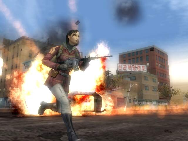 Mercenaries Screenshot
