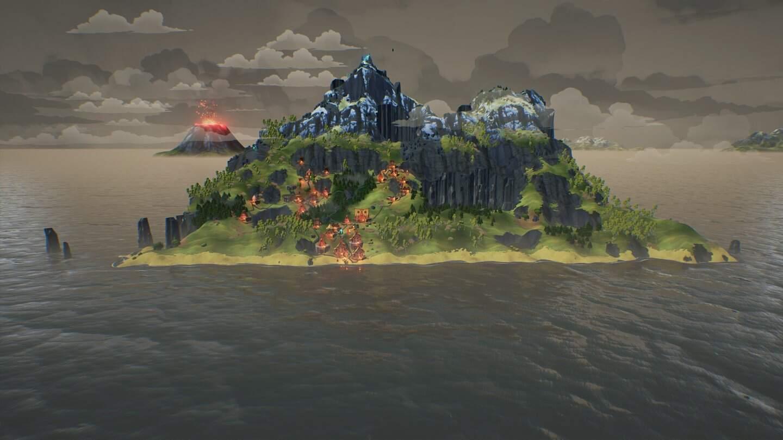 Valhalla Hills Insel