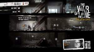This War of Mine: The Little Ones Stein, Schere, Papier