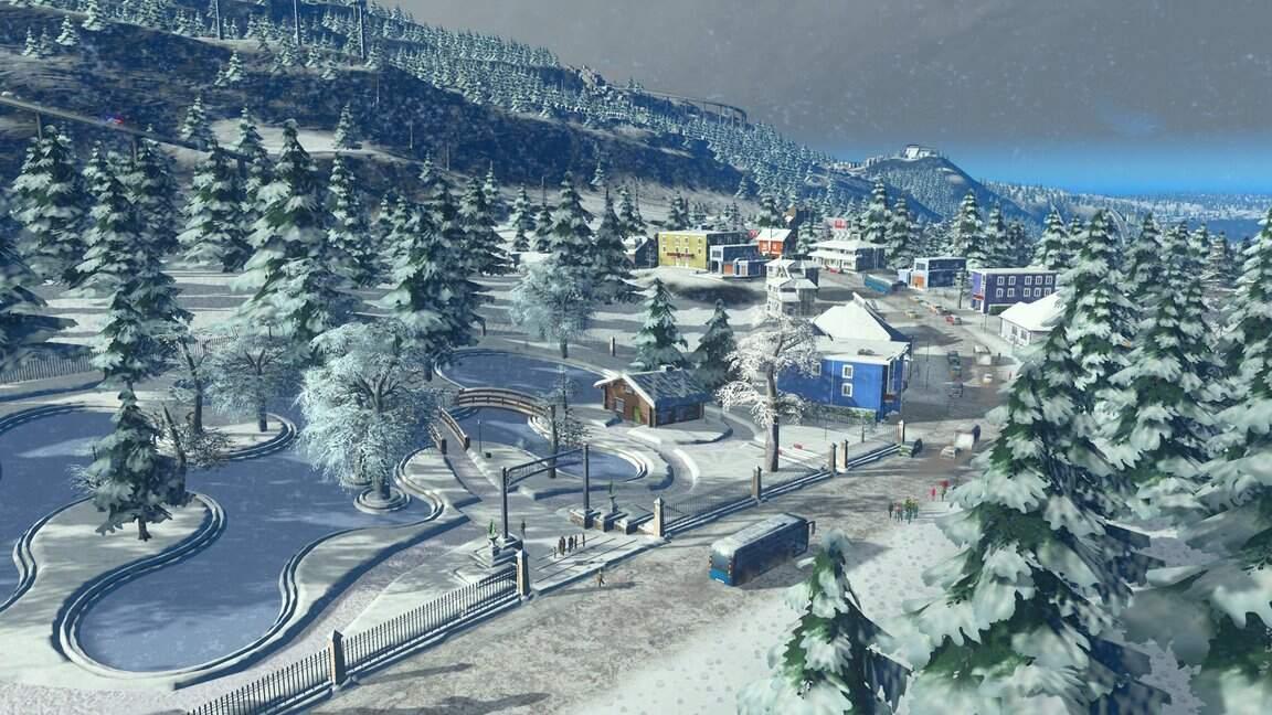 Cities: Skylines Snowfall Winterlandschaft