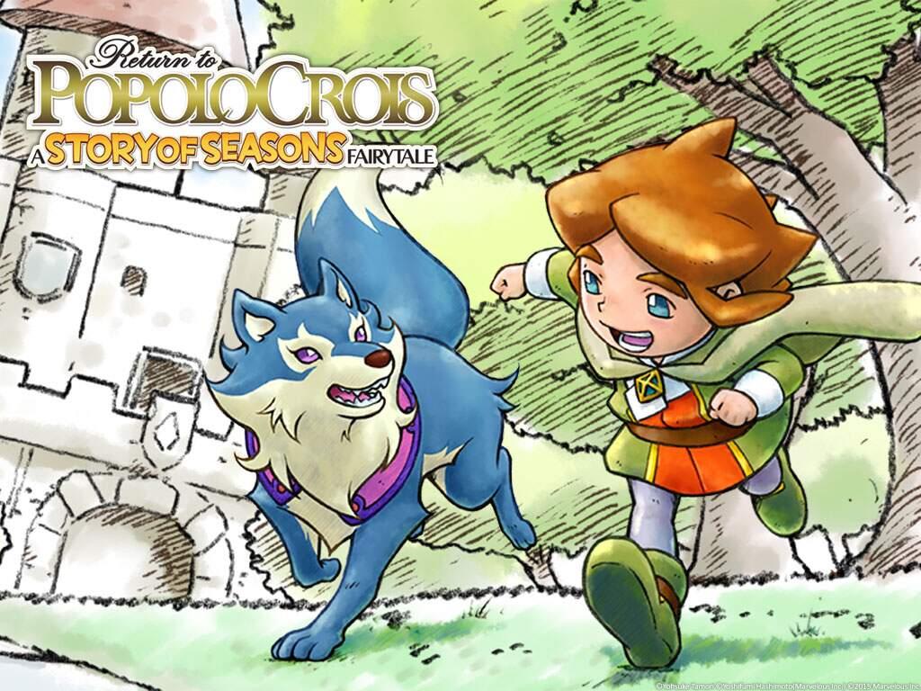 Return to PoPoLoCrois: A Story of Seasons Fairytale Pietro und Blue