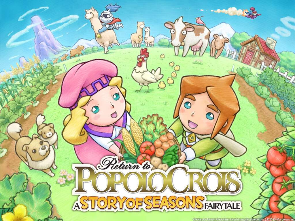 Return to PoPoLoCrois: A Story of Seasons Fairytale Junge Liebe