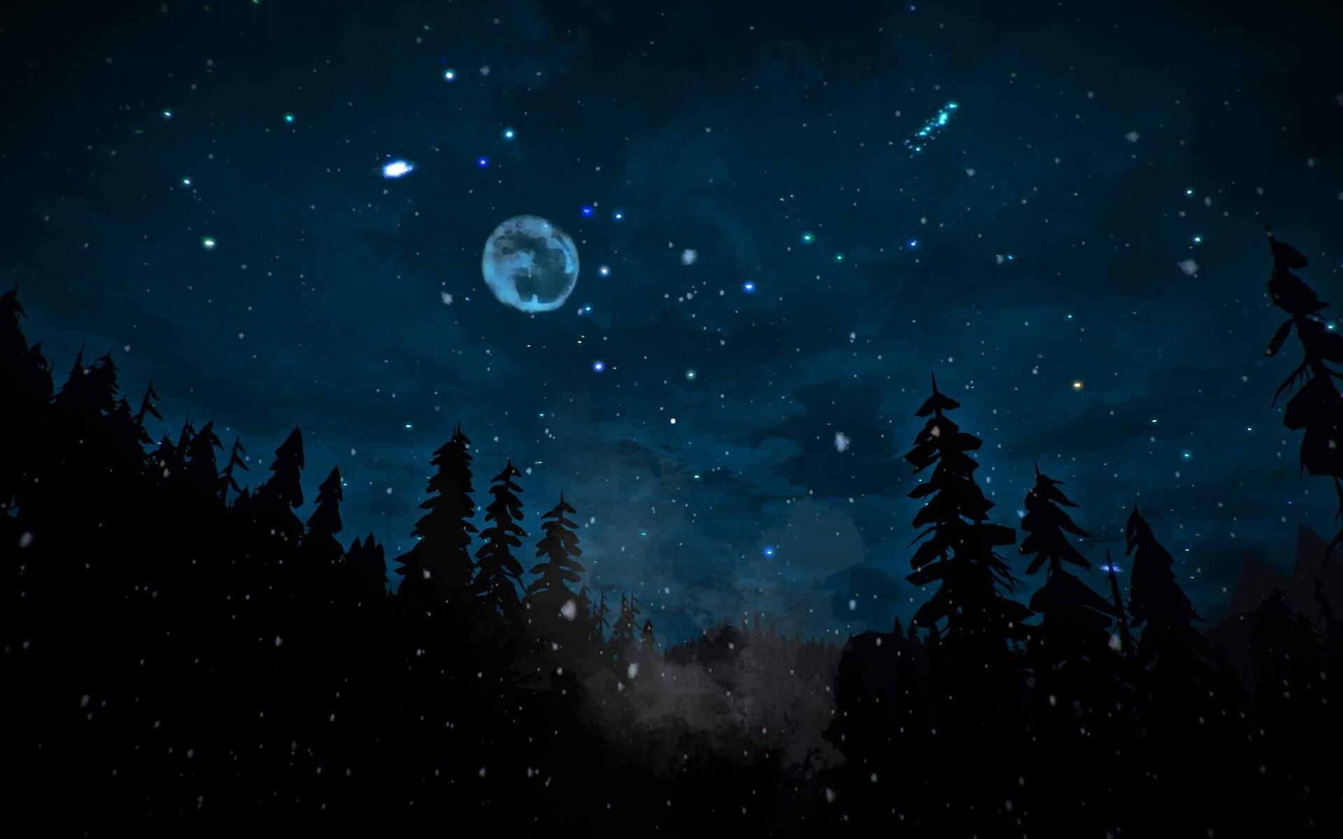 The Long Dark Sonne, Mond und Sterne