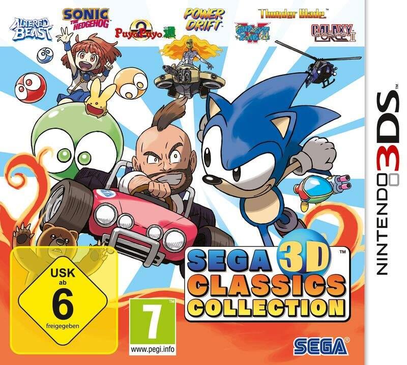 SEGA 3D Classics Collection Packshot