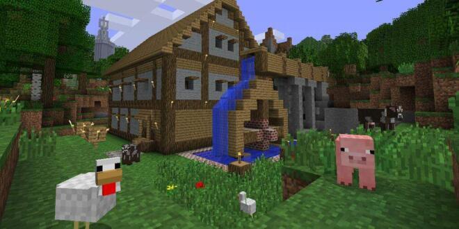 Minecraft Update Ermöglicht SpielstandTransfer Von PS Auf PS - Minecraft hauser verschieben