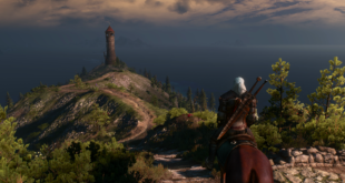 The Witcher 3 Wild Hunt Leuchtturm 4K