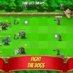 Front Yard Wars Kampf gegen die Hunde