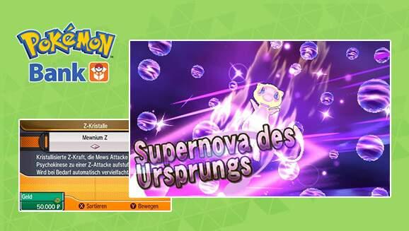 Pokémon Mond und Pokémon Sonne Mewnium Z