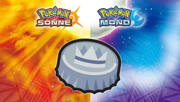 Pokémon Mond und Pokémon Sonne Silberkronkorken