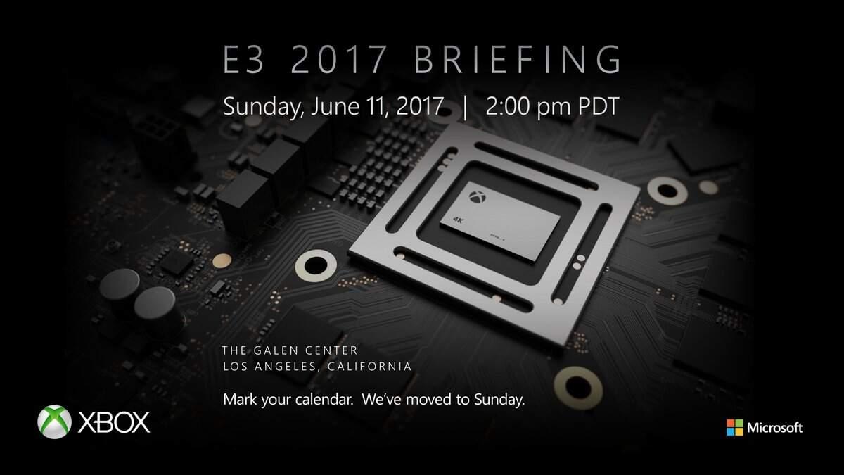 E3 2017 Microsoft Pressekonferenz