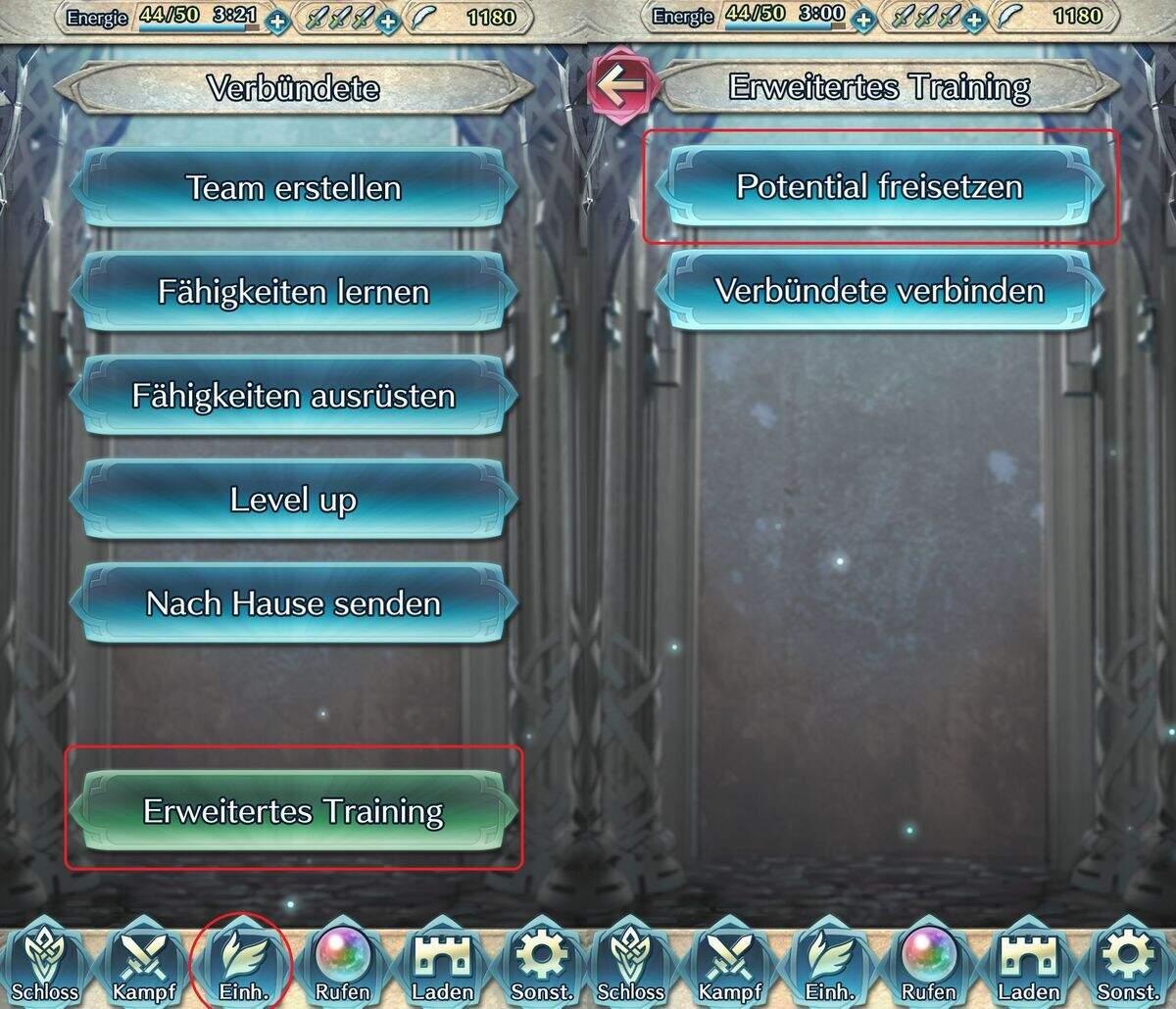 Fire Emblem Heroes Charaktere Potential freisetzen