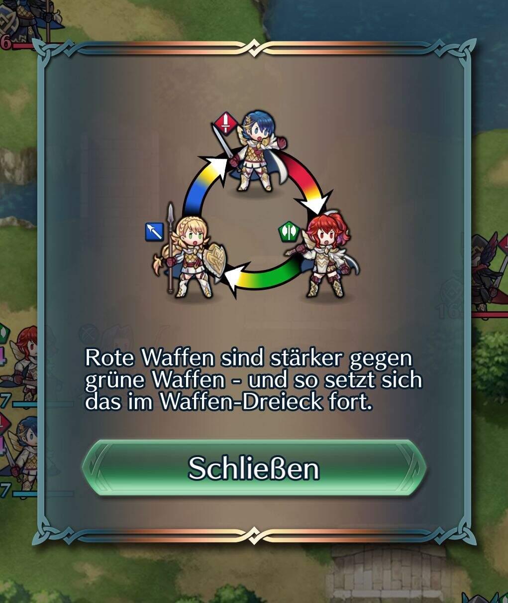 Fire Emblem Heroes Waffendreieck