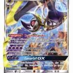 Pokémon Sammelkartenspiel Erweiterung Sonne und Mond Lunala GX