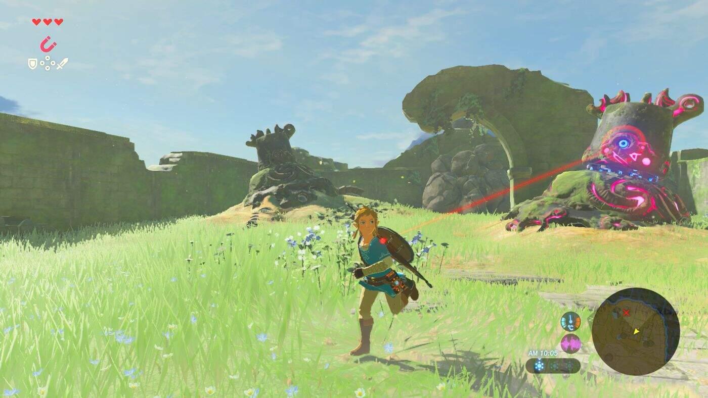 The Legend of Zelda: Breath of the Wild Einsteigertipps Wächter