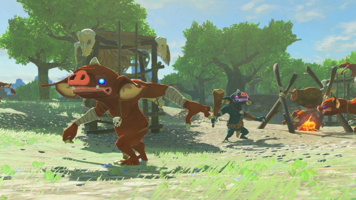 The Legend of Zelda: Breath of the Wild Einsteigertipps Waffen