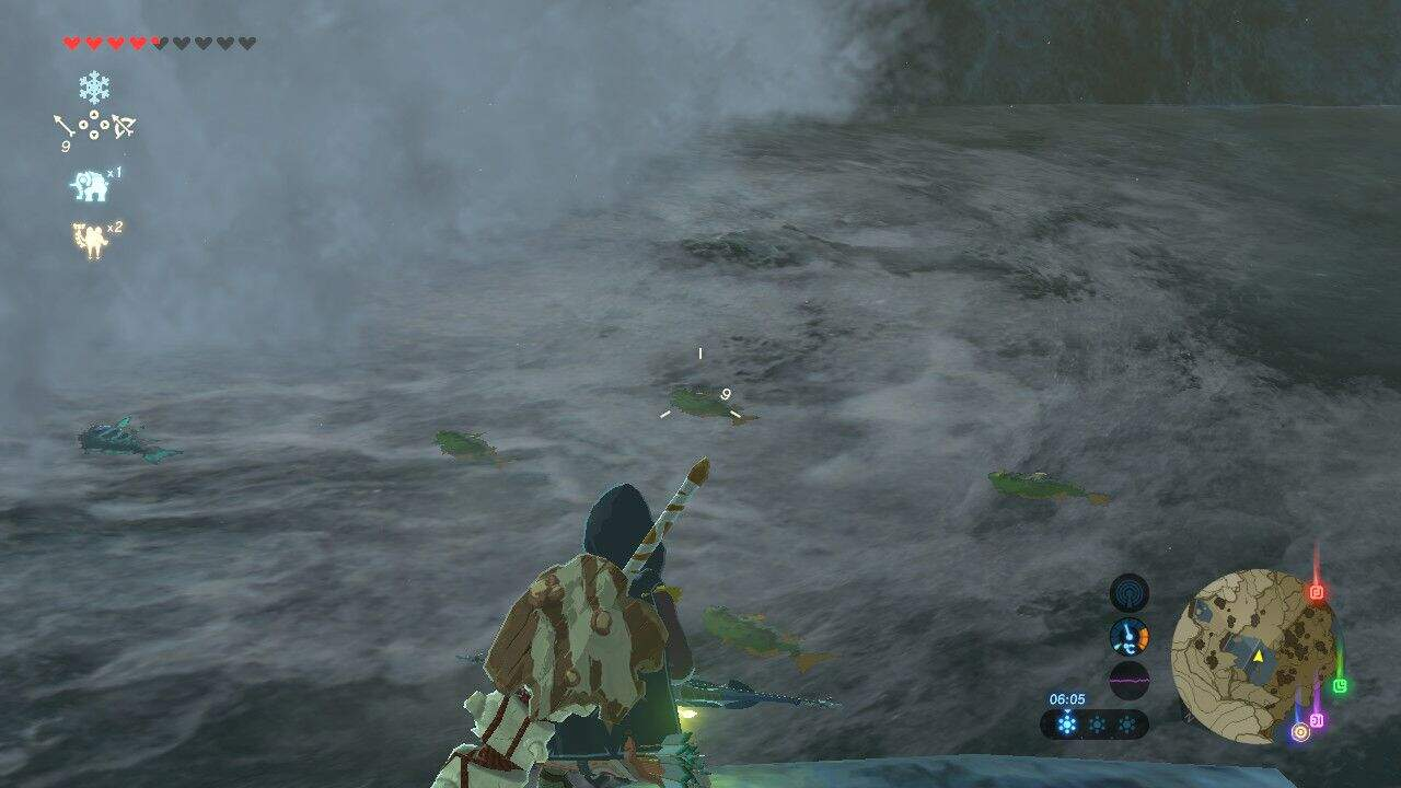 The Legend of Zelda: Breath of the Wild effektives angeln