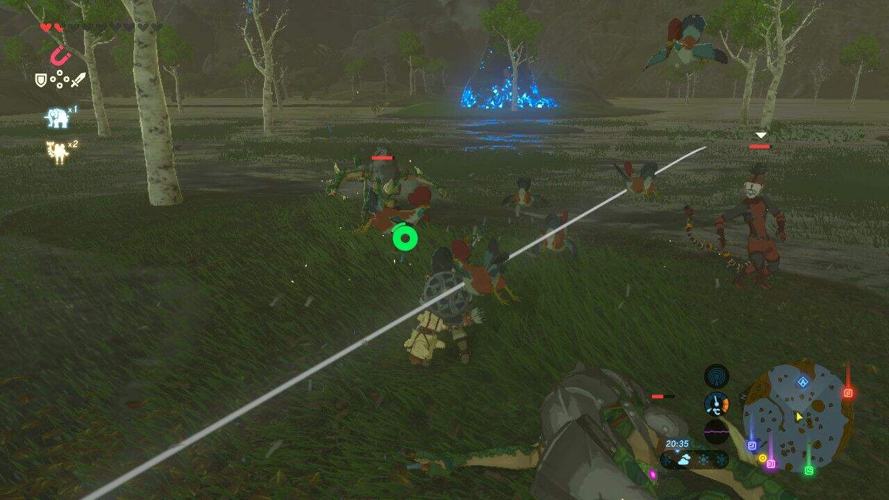 The Legend of Zelda: Breath of the Wild Hühnerschreck
