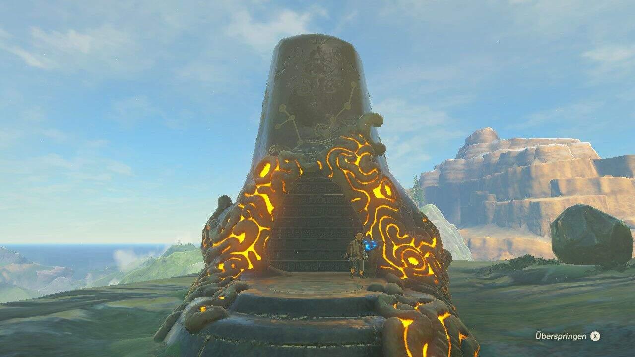 The Legend of Zelda: Breath of the Wild Schrein