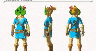The Legend of Zelda: Breath of the Wild Krog Maske