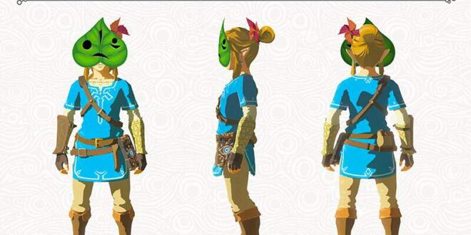 The Legend of Zelda: Breath of the Wild Krog Maske