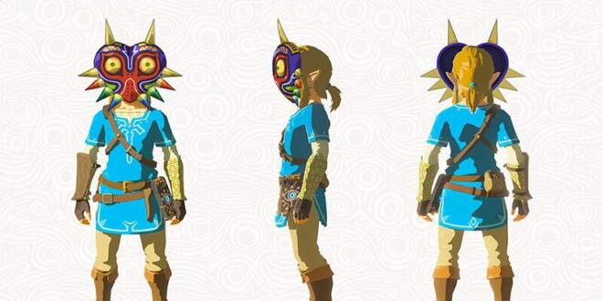 The Legend of Zelda: Breath of the Wild Majoras Maske