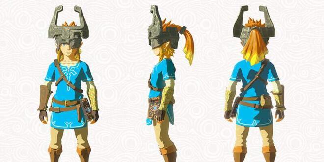 The Legend of Zelda: Breath of the Wild Midnas Maske