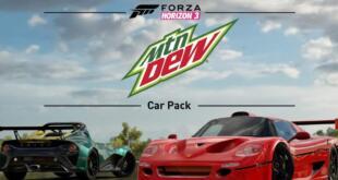 Forza Horizon 3 The Mountain Dew Car Pack