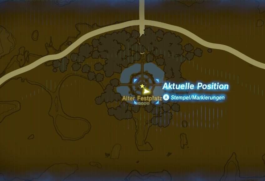 The Legend of Zelda: Breath of the Wild Alter Festplatz