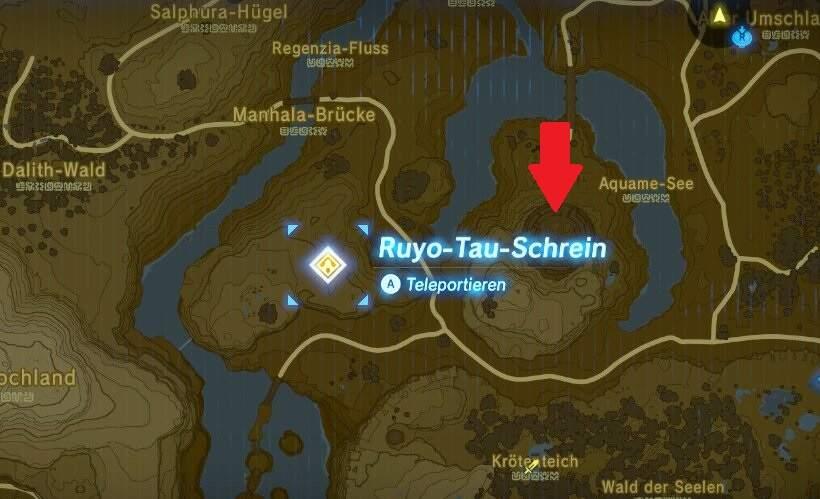 The Legend of Zelda: Breath of the Wild Arena Ruine