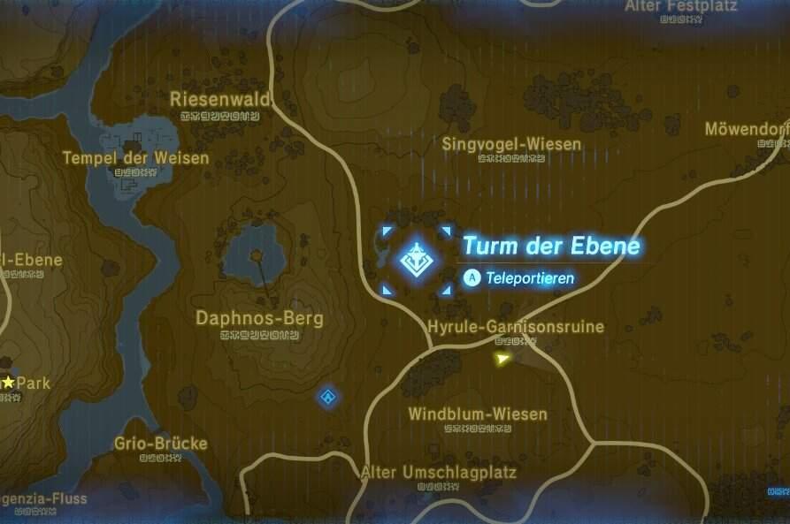 The Legend of Zelda: Breath of the Wild Hyrule Garnisonsruine