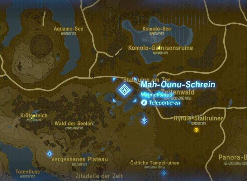 The Legend of Zelda: Breath of the Wild Komolo Garnisonsruine