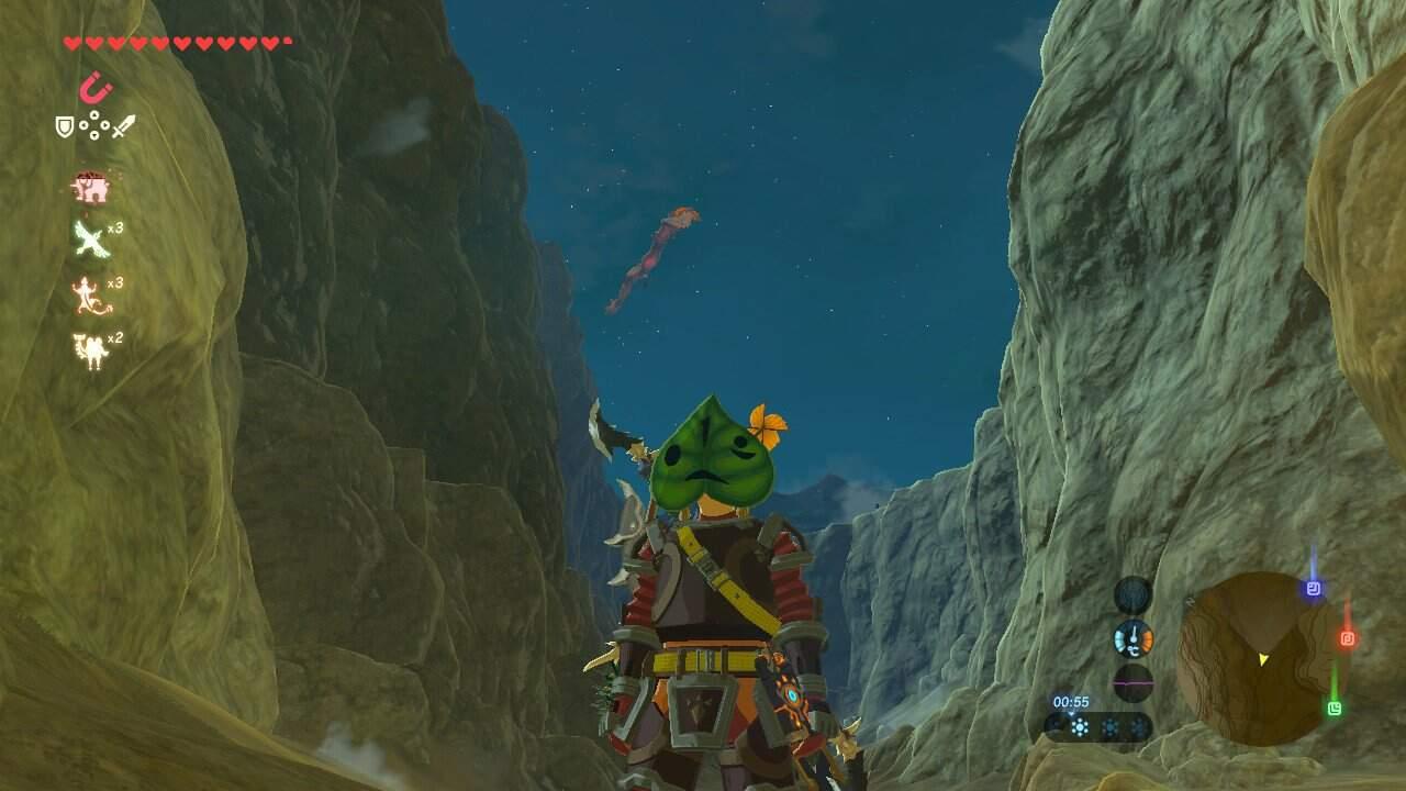 The Legend of Zelda Breath of the Wild Krog Maske