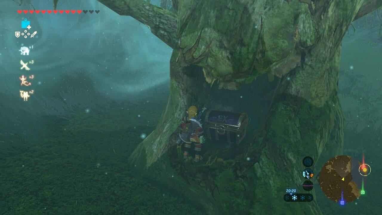 Zelda Krog Karte.The Legend Of Zelda Breath Of The Wild Krog Maske Quickguide