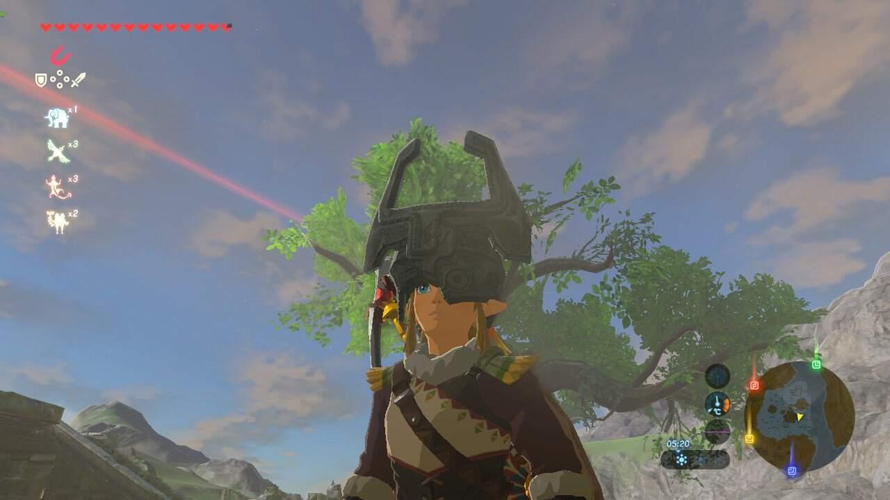 The Legend of Zelda: Breath of the Wild Midnas Krone