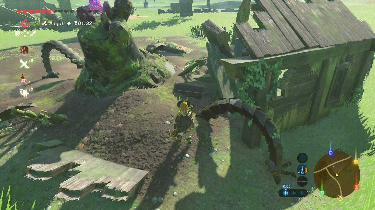 The Legend of Zelda: Breath of the Wild Phantom Beinschutz Fundort