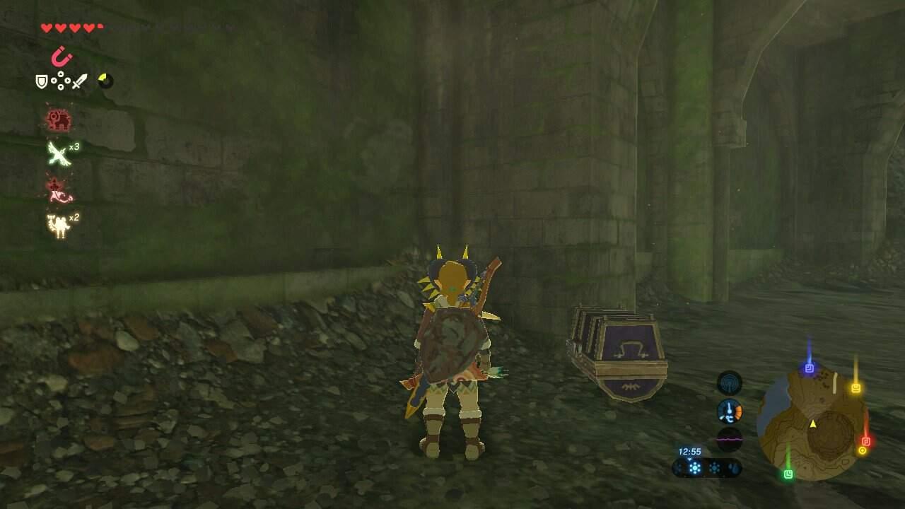 The Legend of Zelda: Breath of the Wild Phantom-Helm Fundort