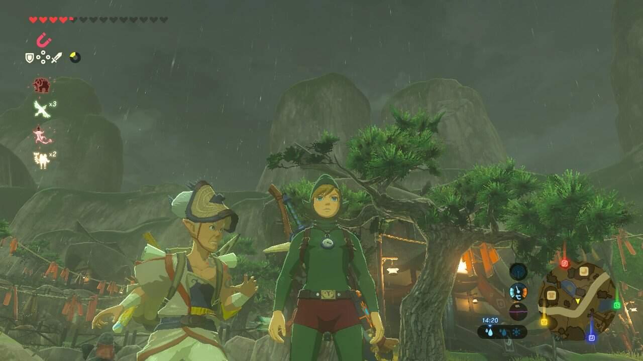 The Legend of Zelda: Breath of the Wild Tingles Gewand