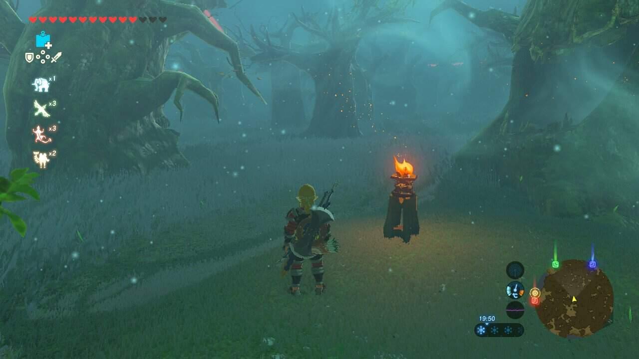 The Legend of Zelda Breath of the Wild Weg zur Krog Maske