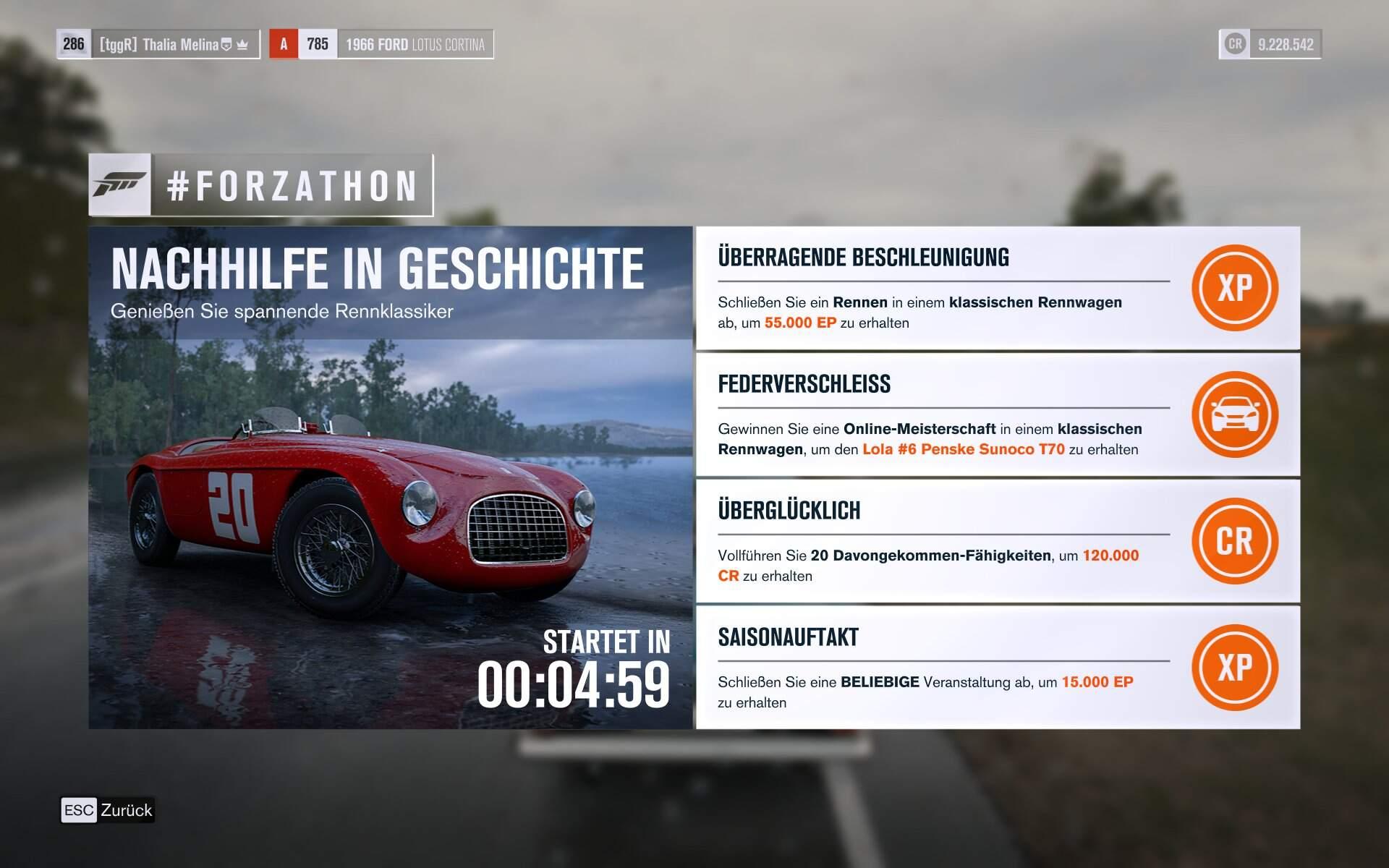 Forza Horizon 3 Forzathon KW 32