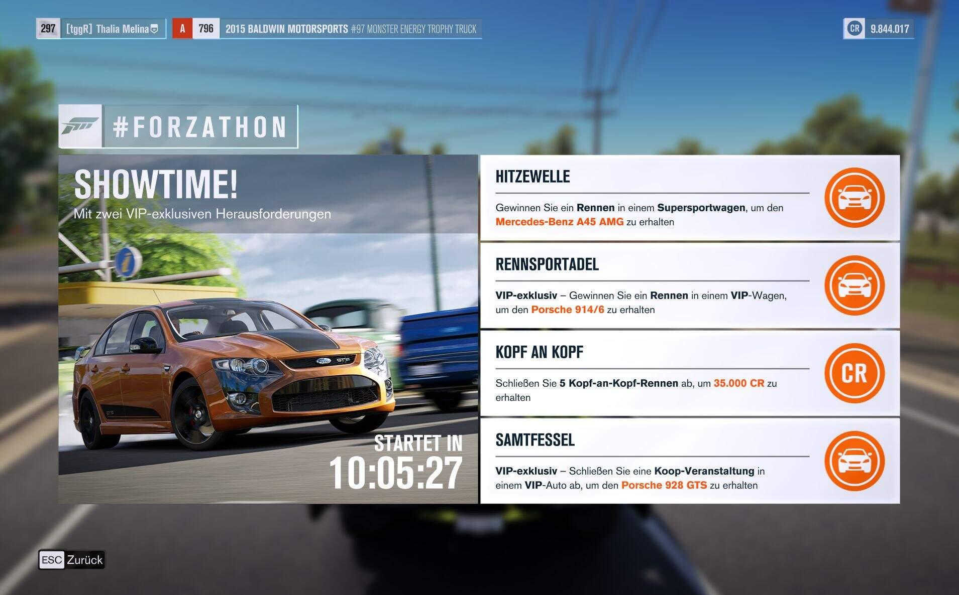 Forza Horizon 3 Forzathon KW 34