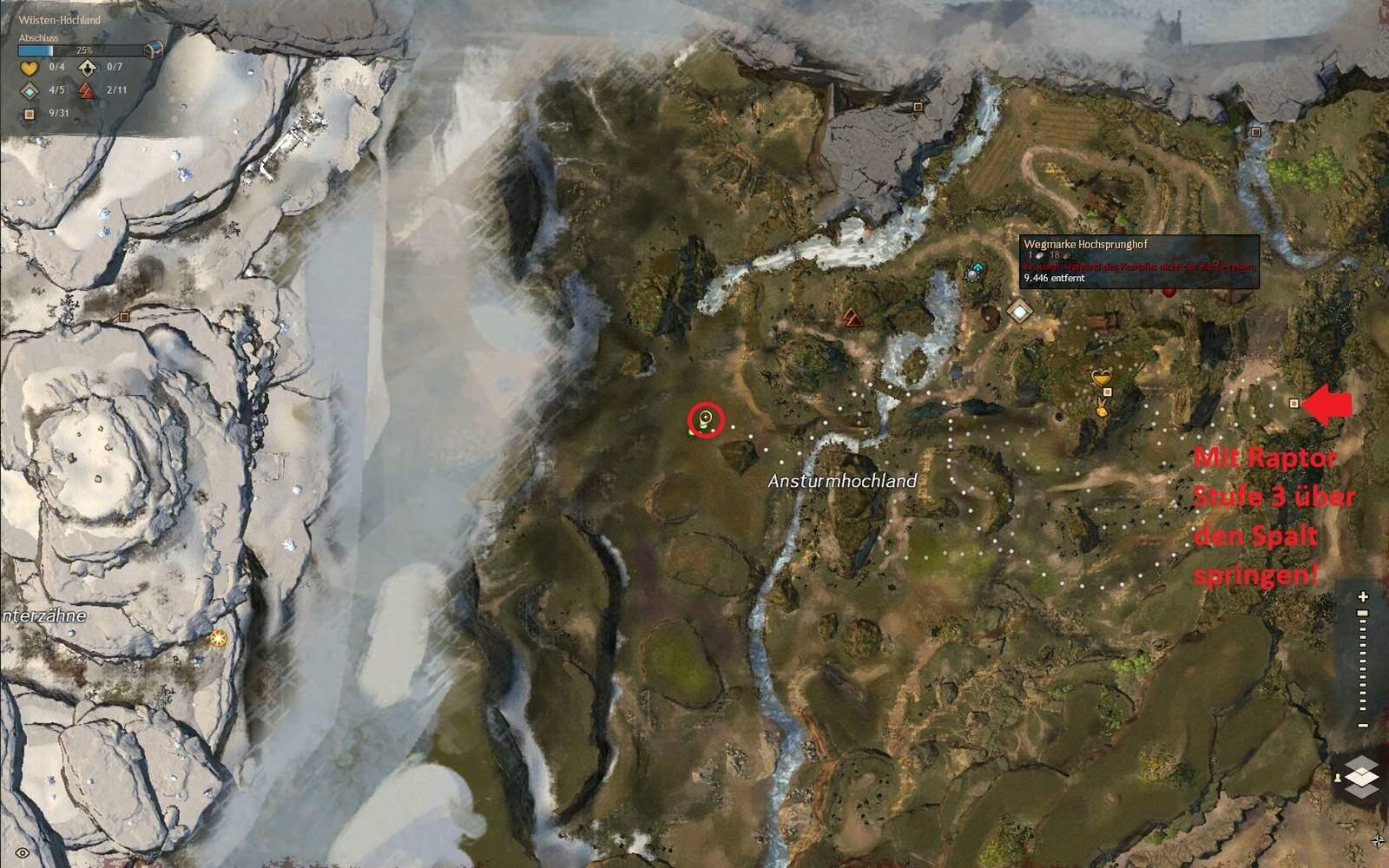 Guild Wars 2: Path of Fire Beißende Iboga Fundort