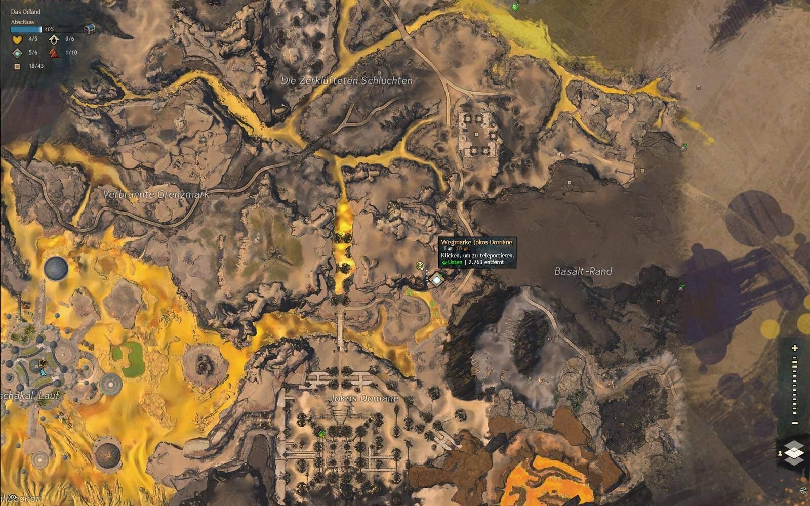 Guild Wars 2: Path of Fire Felsgzalle Fundort