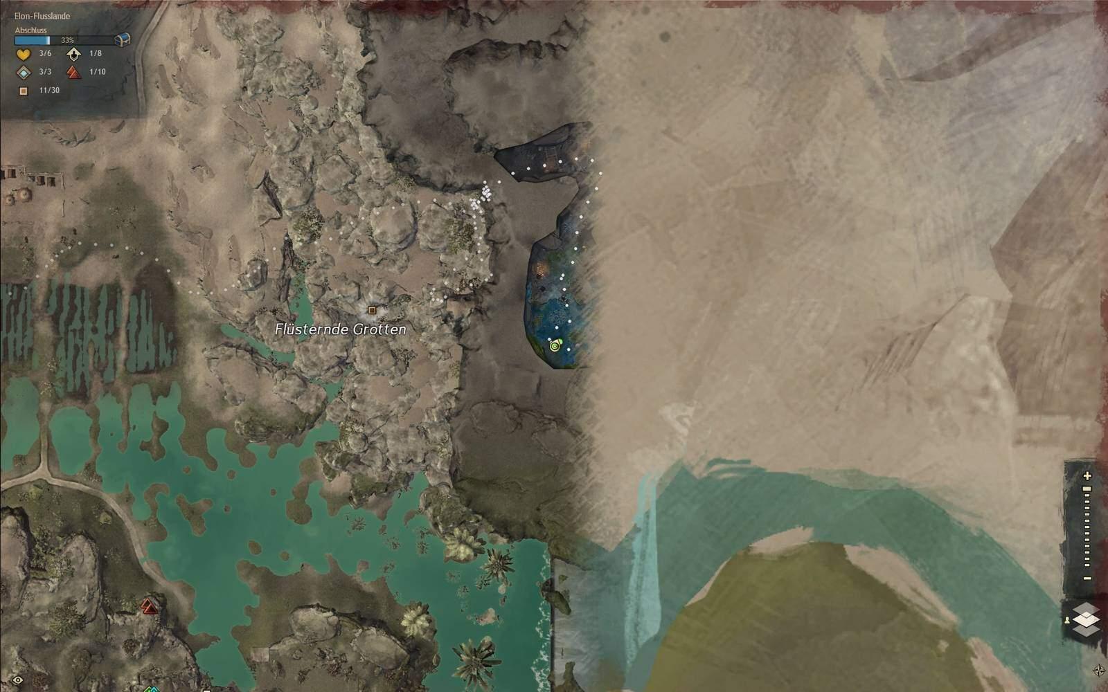 Guild Wars 2: Path of Fire Gepard Fundort