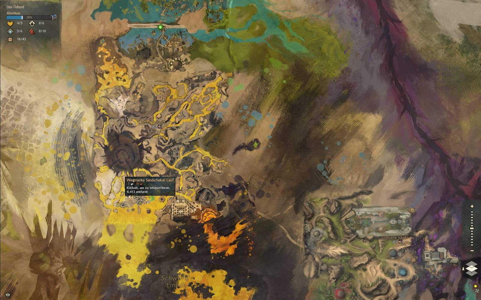 Guild Wars 2: Path of Fire Schakal Fundort