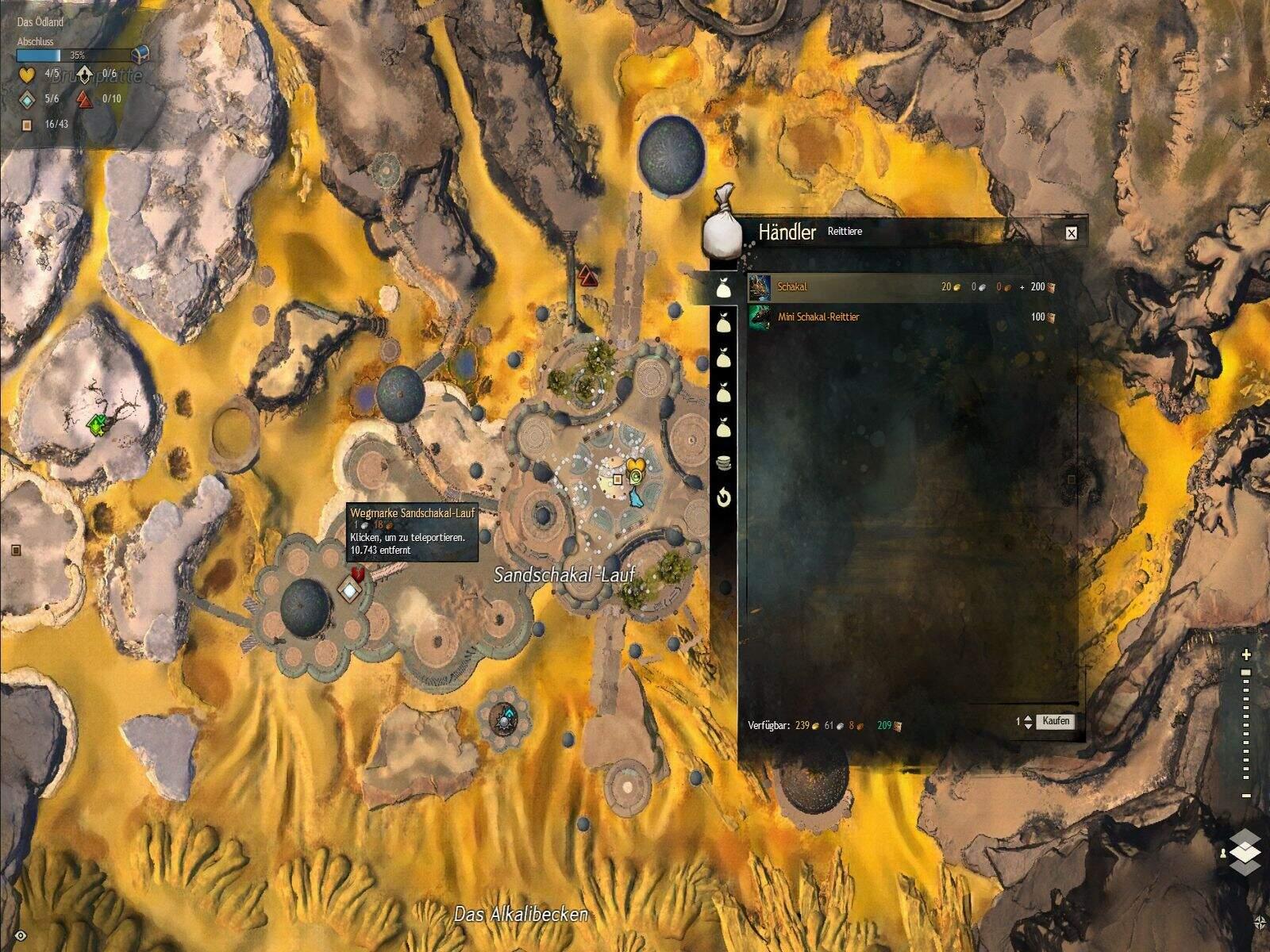 Guild Wars 2: Path of Fire Schakal Fundort und Kosten