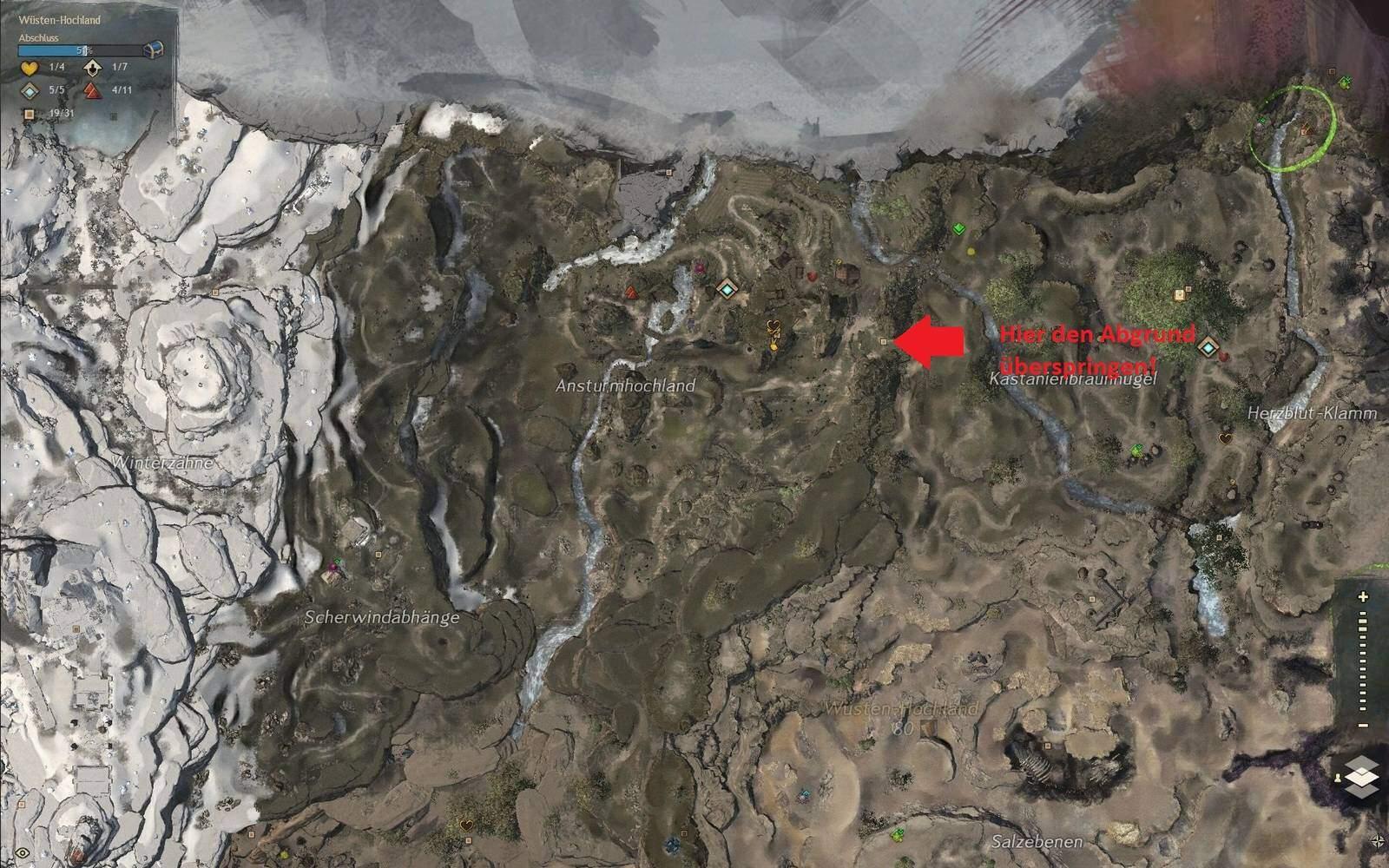 Guild Wars 2: Path of Fire Springer Fundort