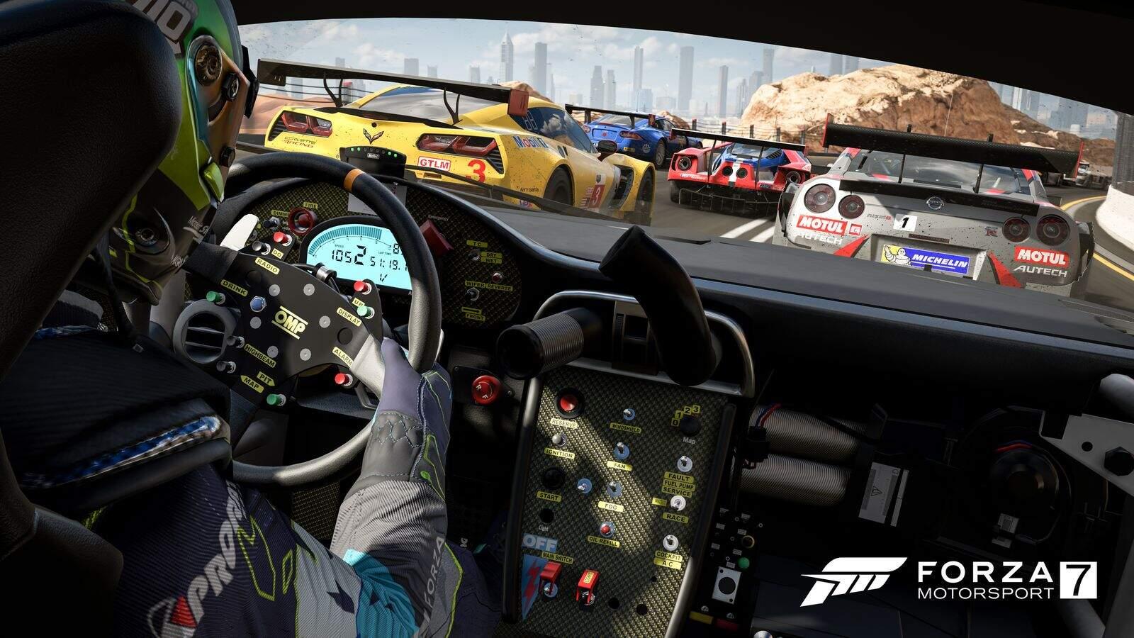 Forza Motorsport 7 Cockpit