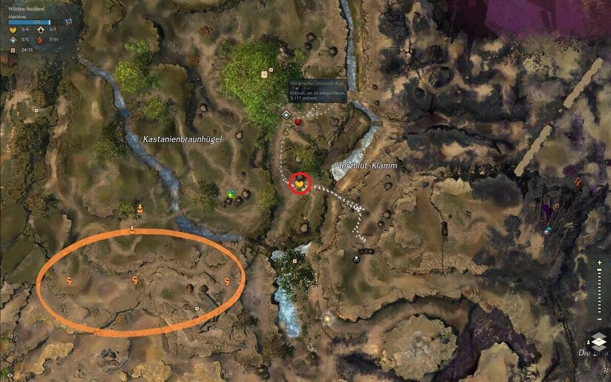 Guild Wars 2: Path of Fire Enormer Vorrat an Vogelfutter