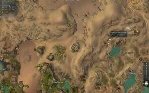 Guild Wars 2: Path of Fire Erwärmtes Auengreifen-Ei Fundort